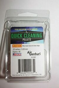 Air Venturi Quick Cleaning Pellets .22 cal / 5.50 mm 80 ct Made in USA