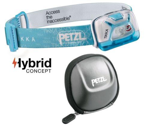 poche Sac de protection et batterie-max 200 lm Petzl Tikka Bleu incl
