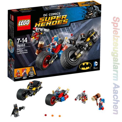 LEGO DC Comics Super Heroes 76053 Batman  Batcycle-Verfolgungsjagd in Go   N3//16