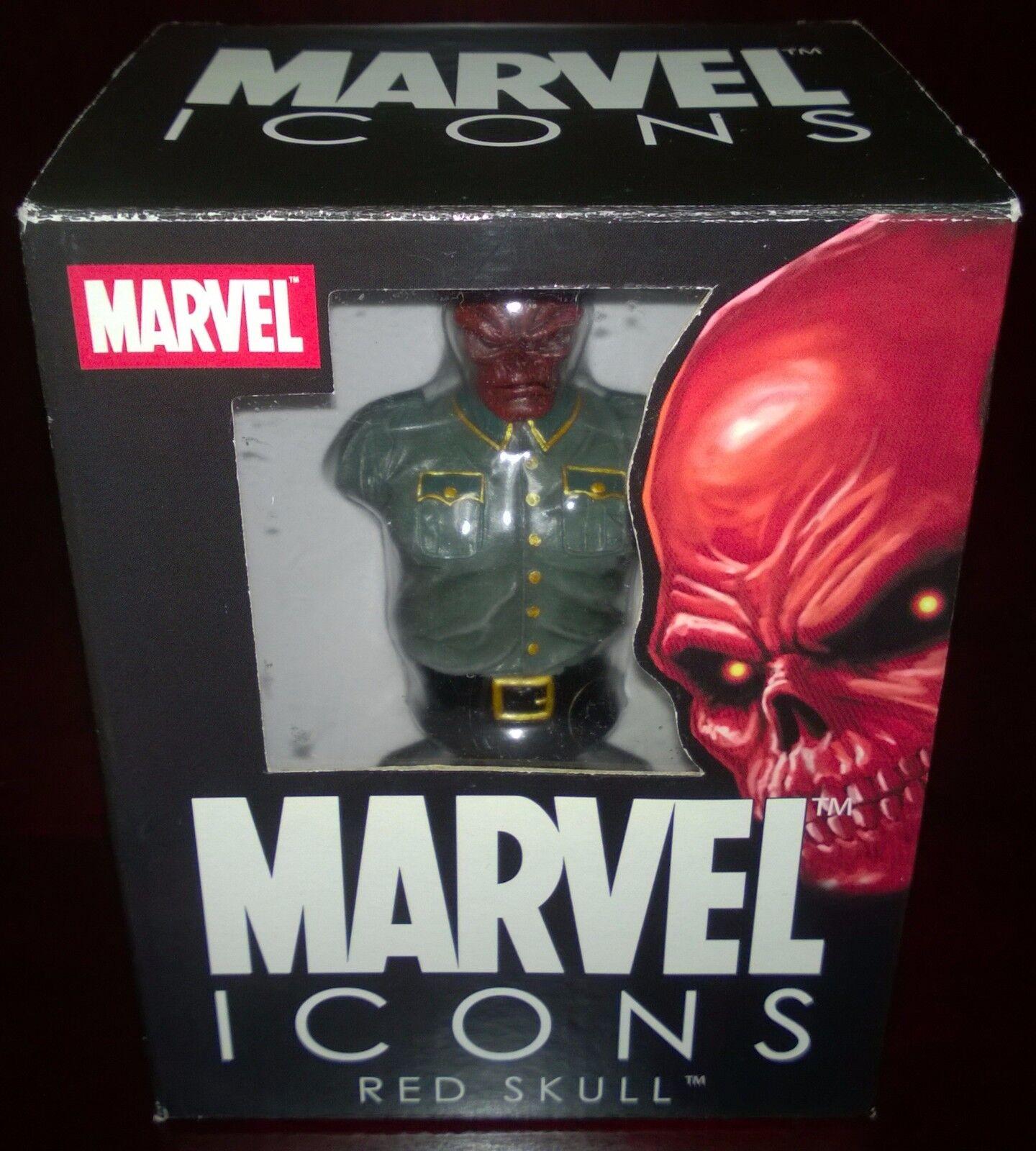 Cráneo Rojo Marvel iconos Edición Limitada Busto Diamond Select Juguetes  100 2000  nuevo