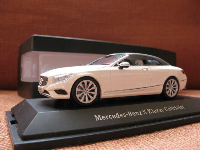 1 43 Kyosho Mercedes-Benz S Class Soft Top 2015 diecast (dealer version)