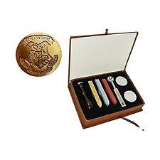 New Vintage Harry Potter Hogwarts School Badge Wax Seal Stamp Sticks Melting ...