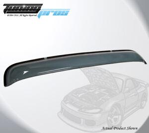 "Smoke Tinted Sunroof Moonroof Wind Visor 980mm 38.5/"" For 1997-2002 Mazda 626"