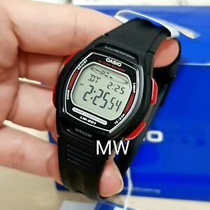 Casio-Ladies-Boys-Kid-039-s-Sport-Resin-Band-Digital-Watch-LW201-LW-201-LW-201-4A
