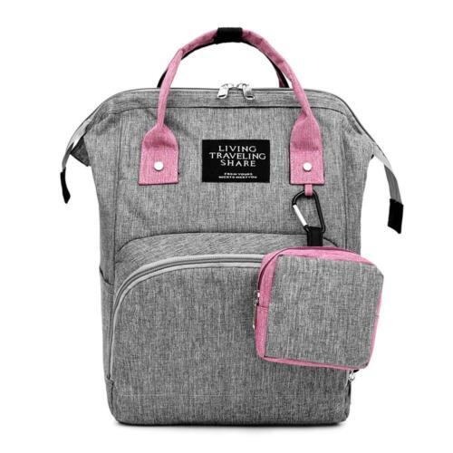 Diaper Bag Mummy Backpack Large Capacity Travel Nursing Bag Baby Multifunction
