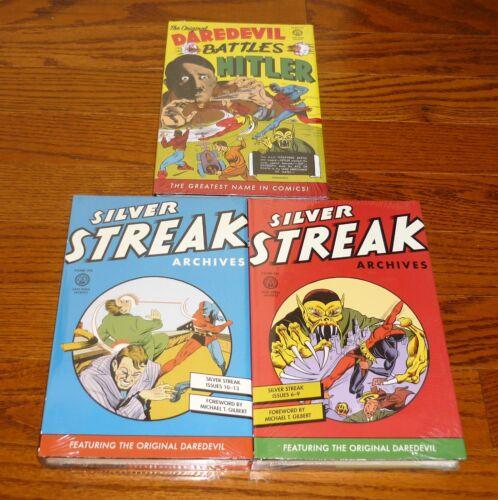 Silver Streak Archives Volume 1 + 2, + Daredevil 1, SEALED, Dark Horse Comics