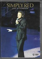 DVD ZONE 2--CONCERT--SIMPLY RED--LIVE IN LONDON