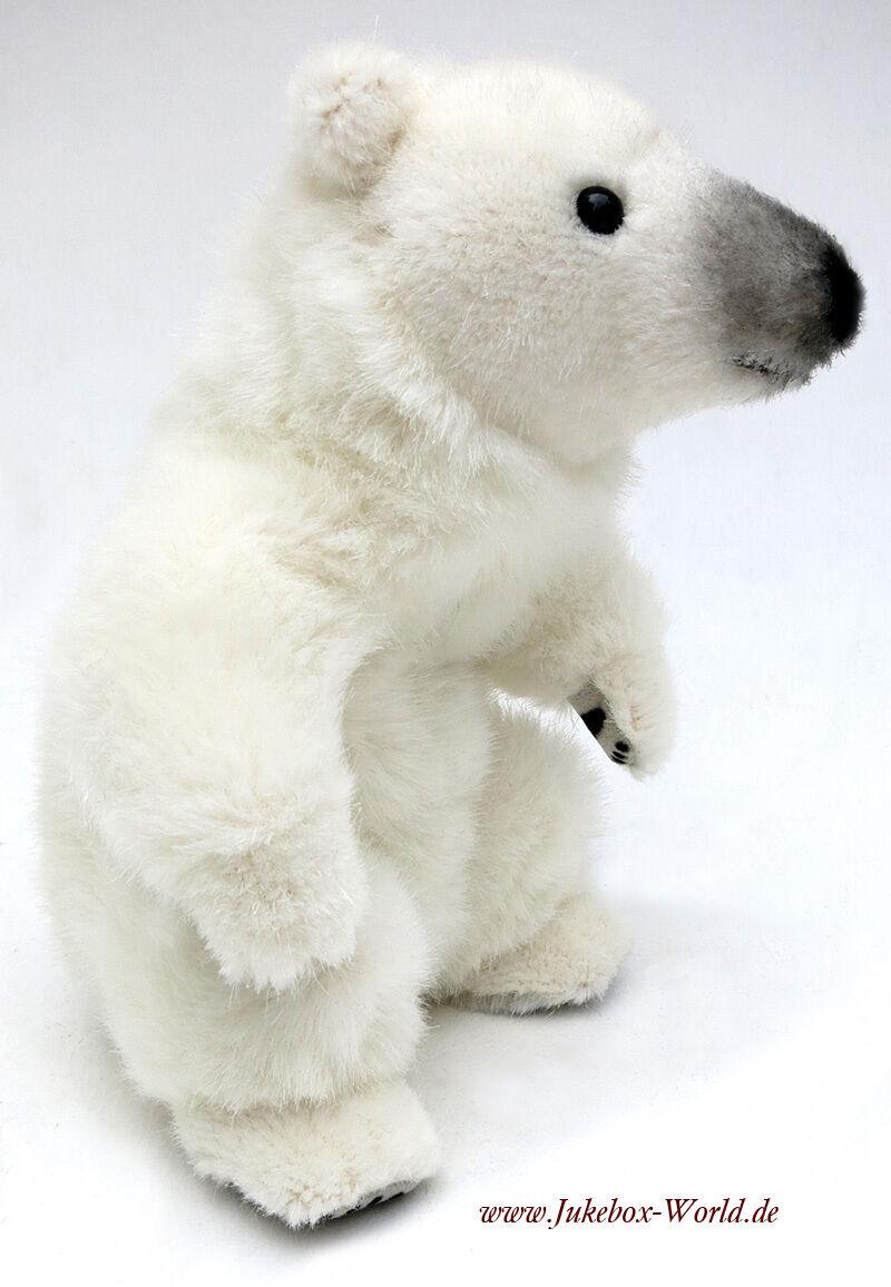 Kösener Eisbär Minitier  6320 - schönes Plüschtier für einen guten Zweck