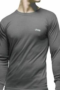 Mens-1-Pack-Jeep-Long-Sleeved-Thermal-T-Shirt