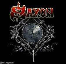 SAXON cd cvr INTO THE LABYRINTH Official SHIRT MED New nbp