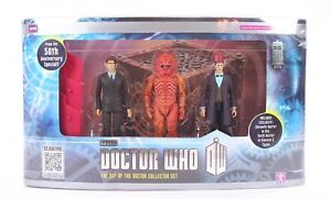 DOCTOR-WHO-10cm-DAY-OF-THE-DOCTOR-set-TENTH-ELEVENTH-DR-ZYGON-figures-toys-NEW
