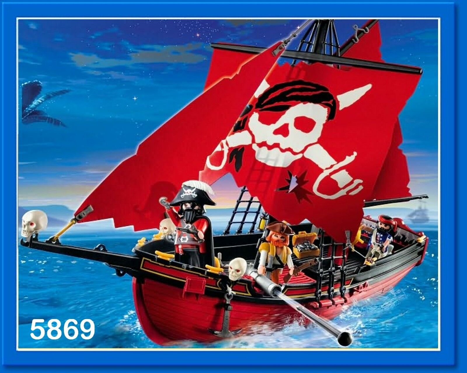 Playmobil Barco Barco Barco Pirata * 3174 3860 5238 5778 5810 5869 * * Servicio de piezas de repuesto bab487