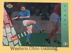 1994-World-Cup-USA-Roberto-Baggio-HS8-Hot-Shots-Soccer-Card
