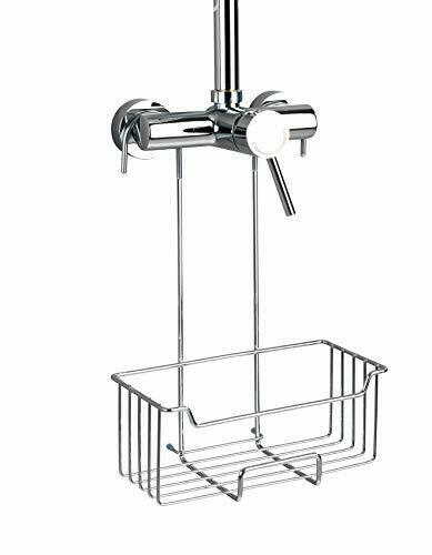 Duschregal zum Einhängen an die Armatur in Wenko Thermostat-Dusch-Caddy Milo