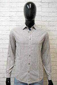 Levi's Strauss Camicia Uomo Taglia M Maglia Camicetta Manica Lunga Shirt Man