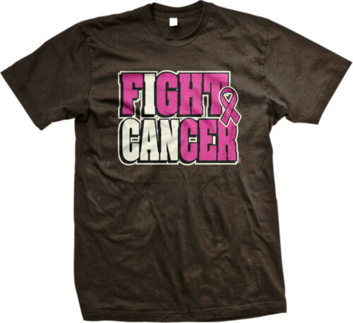 I Can Fight Cancer Pink Ribbon Hope Breast Cancer Awareness Month Mens T-shirt