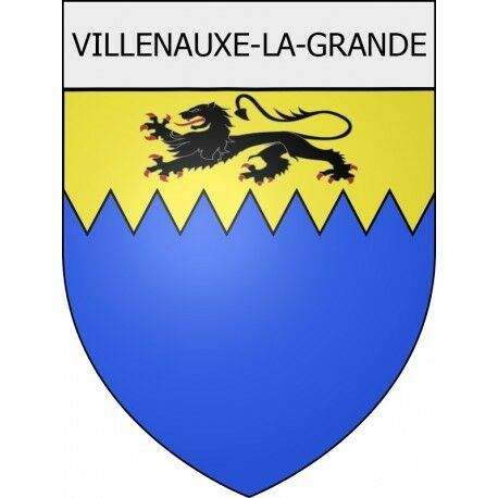 100% Waar Villenauxe-la-grande 10 Ville Stickers Blason Autocollant Adhésif