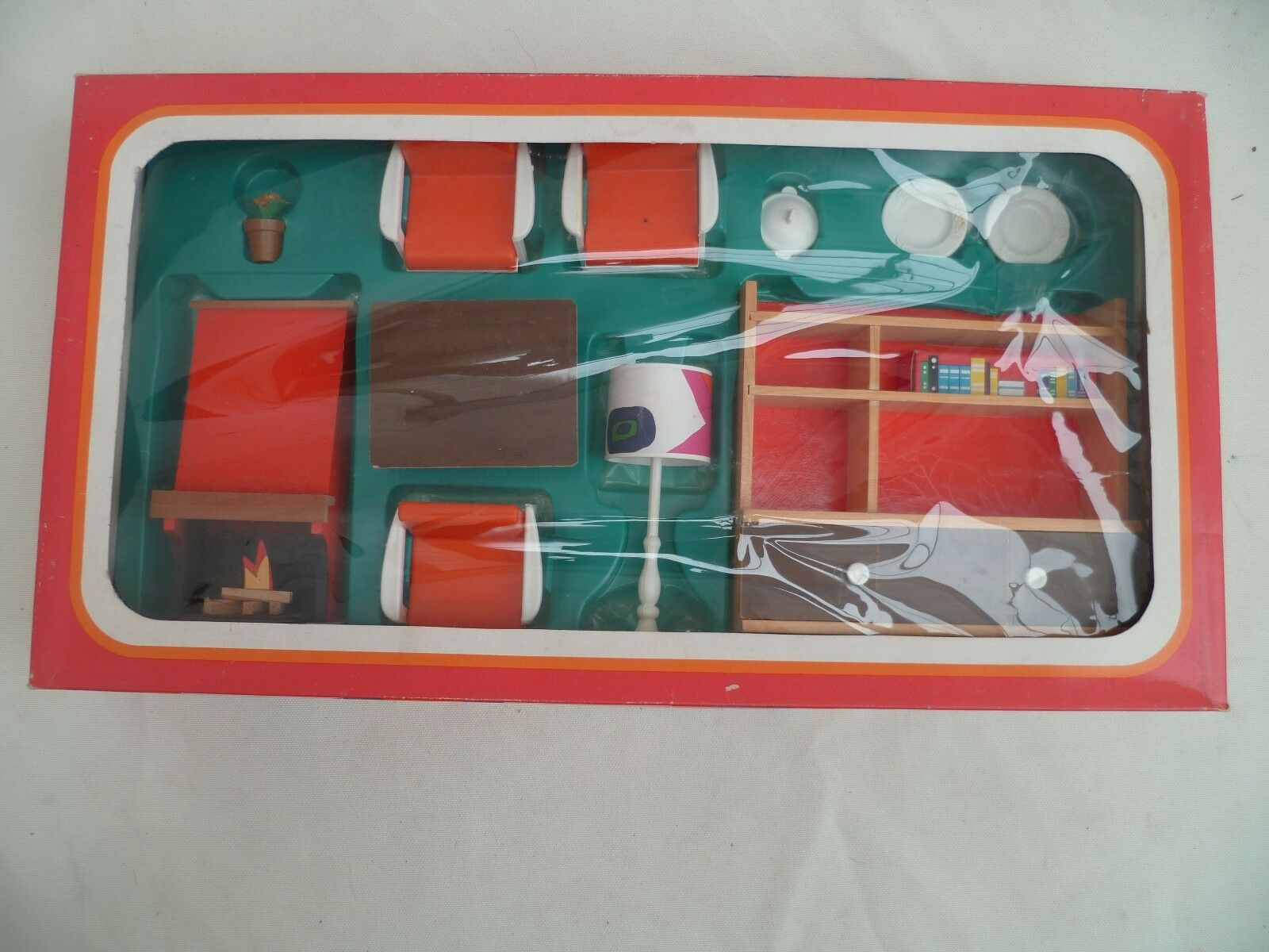FRADE Mobilier de poupée vintage 70'S Doll's Doll's Doll's house fourniture (Box)complet RARE afbaa1