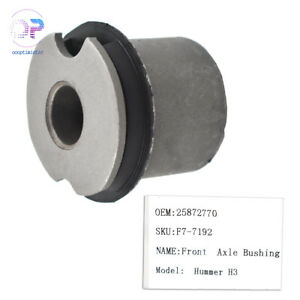 New B2110 Premium Front Differential Axle Bushing Fit For Hummer H3 06-10