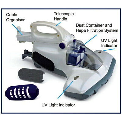 Details about  DreamSafe UV Mattress and Pillow Cleaner & Sanitiser Vacuum Extraction Machine