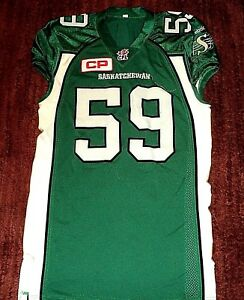 Worn Details Missouri Cfl 59 Saskatchewan About Game Jersey State Roughriders Richards
