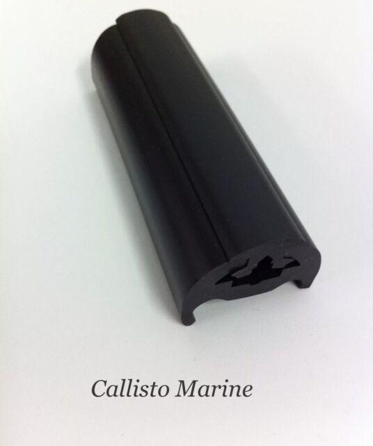 39MM Base Boat Fender Rubbing Strake B Section Black Pvc PER METER