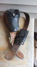 Vintagr Black Leather Bucheimer B1 14 Service Belt 34 Bo7 44ylh Holster