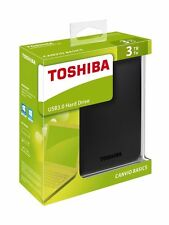 3TB Toshiba Stor.E Canvio 3 TB External Hard Drive External USB HDTB330EK3CA HDD