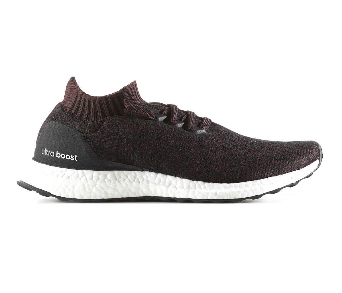 Mens ADIDAS ULTRABOOST UNCAGED Black Running Trainers BY2552