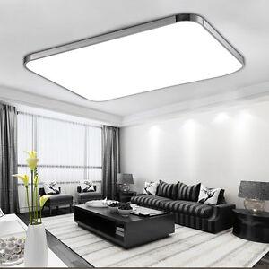 led deckenleuchte aufbau panel badleuchte k che. Black Bedroom Furniture Sets. Home Design Ideas