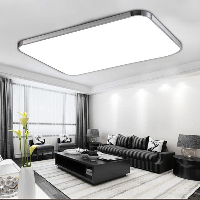 LED Deckenleuchte Aufbau Panel Badleuchte Küche Deckenlampe Dimmbar  Flurleuchte