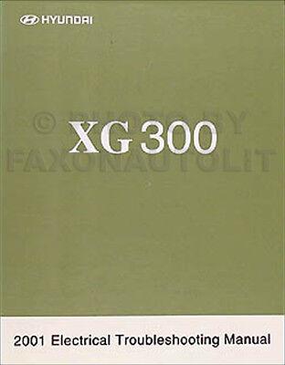 2001 Hyundai XG 300 Electrical Troubleshooting Manual ...
