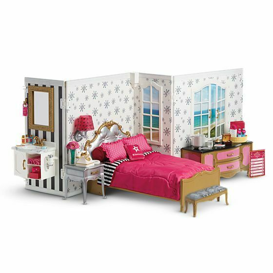 American Girl Doll Grand heißel NEW   Reception and Bedroom zeigens