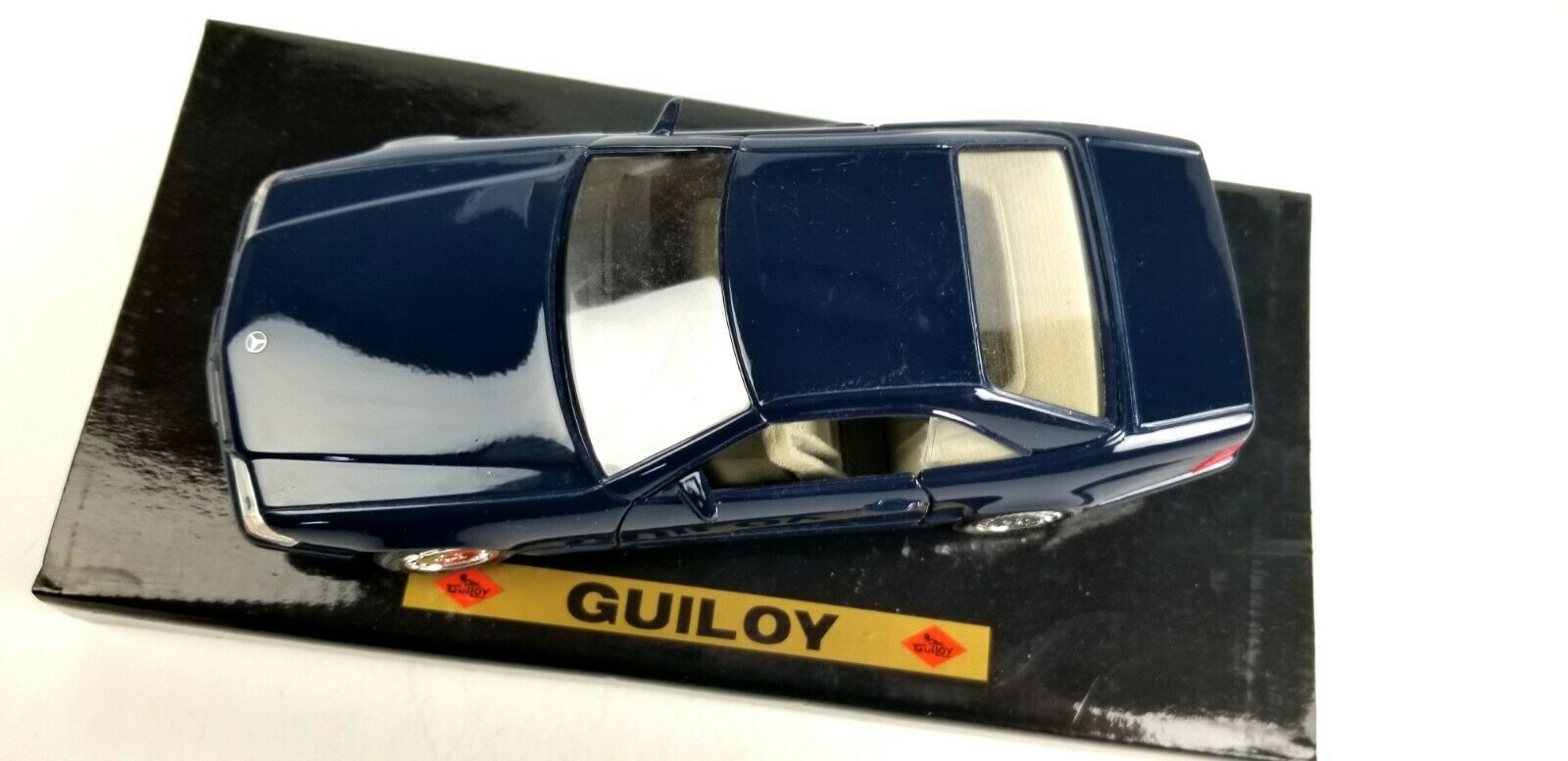 New Guiloy Mercedes Benz 500SL Coupe bluee 1 24 24 24 Scale Diecast Model Car Replica 5106f6