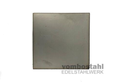 Edelstahl Blech 1.4571 Stärke 5 mm Zuschnitt V4A Edelstahlblech