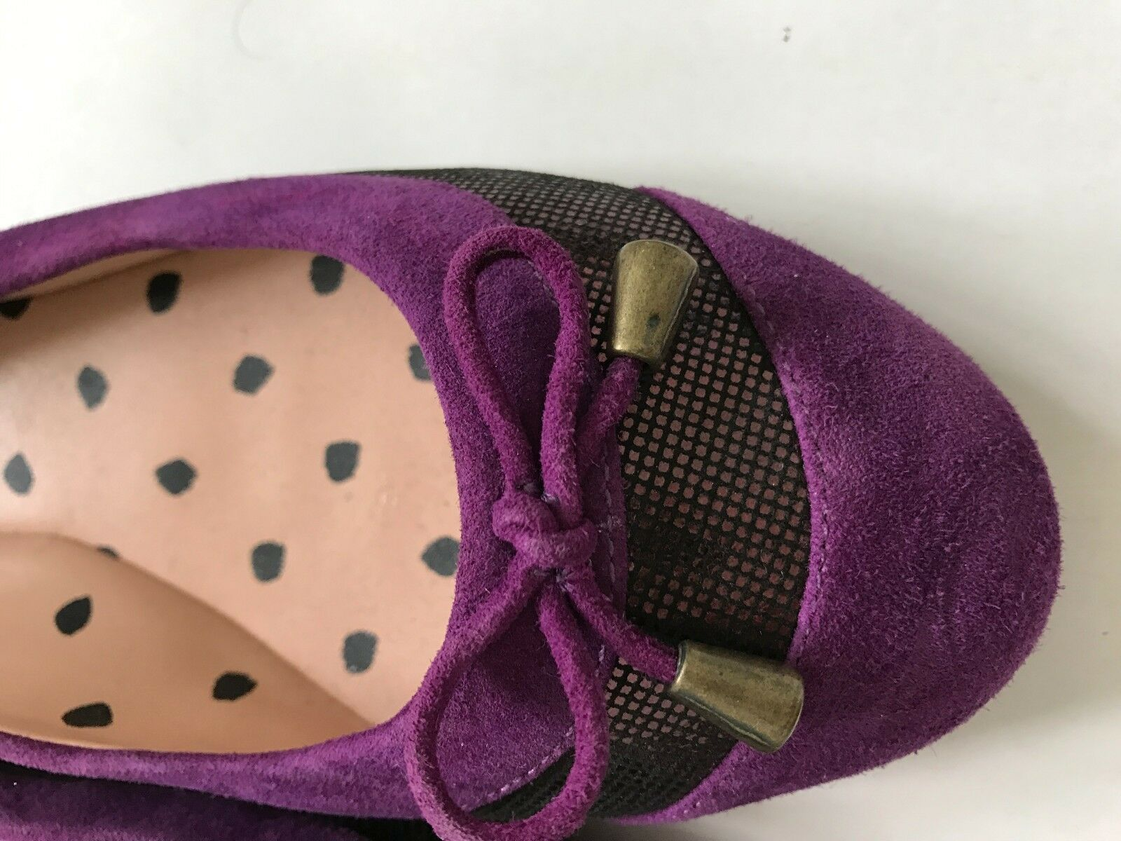 Paul Smith Femmes Violet Chaussures plates Taille UK4 EU 37 37 37 783a74