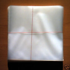 10 LP Vinyl Plastic Schutzhüllen Sleeves DICK/THICK für 12 Schallpaltten NEW