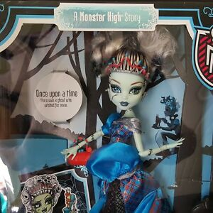 Monster-High-2012-Scarily-Ever-After-High-Frankie-Stein-Threadarella-NEW-Sealed