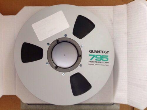 """Quantegy 795 High Resolution Tape 795-57GJ4G 1/"""" 4600/'"""