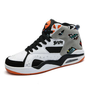 Men-039-s-Air-Basketball-Boots-Basketball-Shoes-Casual-Breathable-High-Top-Athletic