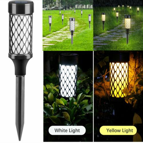 10 LED Solar Spot Light Outdoor Super Bright Garden Landscape Lights Lawn Lamp