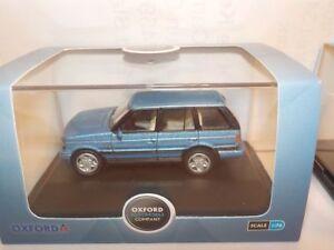Range-Rover-P38-Blue-Model-Cars-Oxford-Diecast