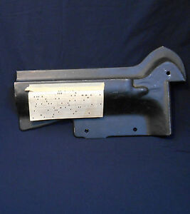 NOS 71 Front Bumper Filler Panel Pair Chevy Impala Bel Air Caprice Biscayne SS