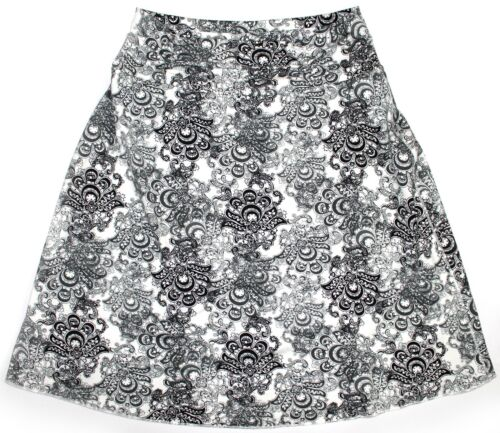 Pick Size NEW Tranquility by Colorado Clothing A-Line Stretch Skirt Black Lace