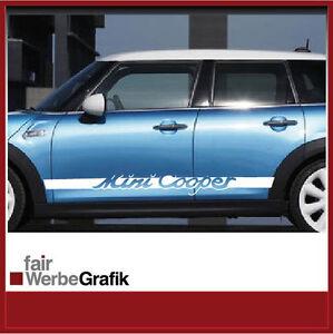 Details Zu Aufkleber Sticker Seitenstreifen Dekor Mini Cooper 4 Türen 089
