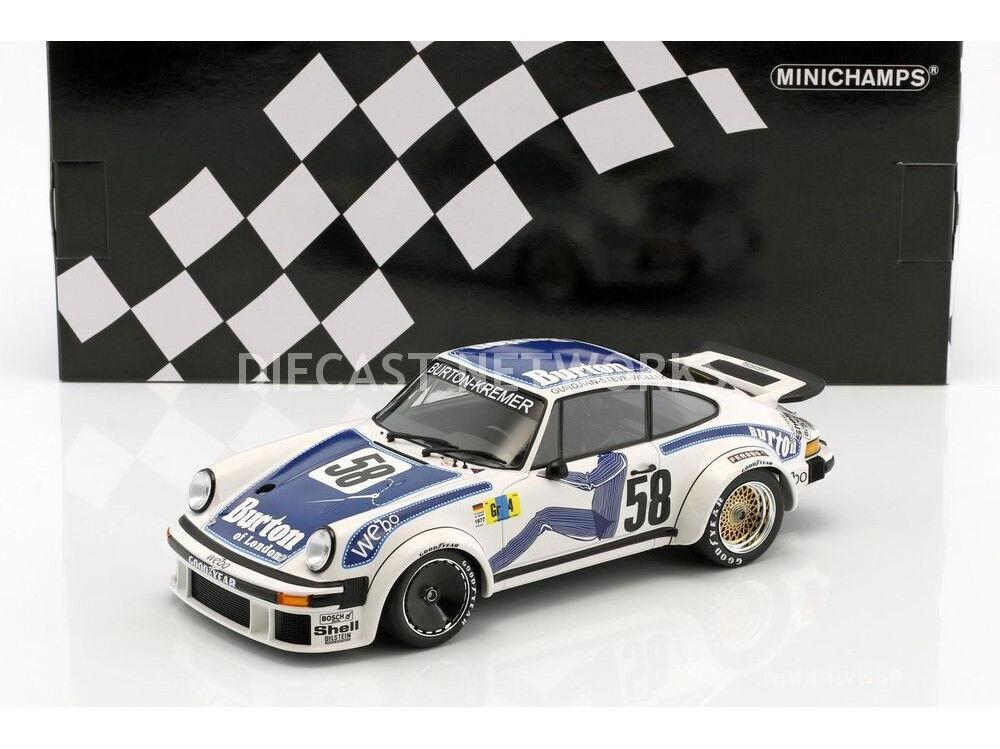 Minichamps Porsche 934 24h Le Mans 1977 Wollek Gurdian Steve  18 LE336 nuevo
