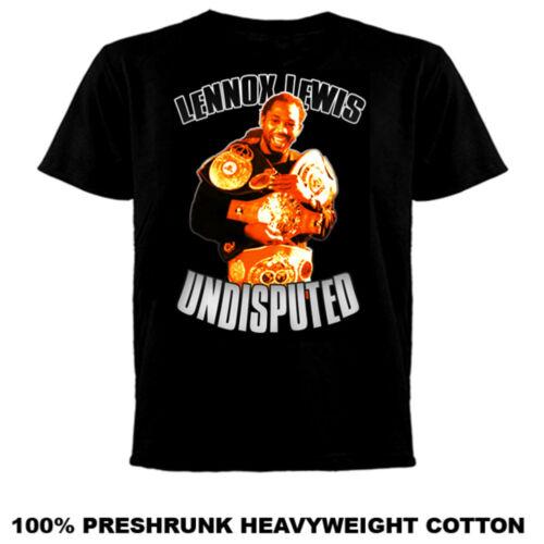 Lennox Lewis Boxing Champ vintage retro  T Shirt