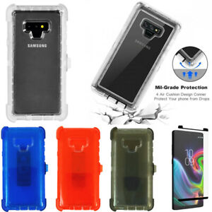 For-Samsung-Galaxy-Note-9-Clear-Case-Belt-Clip-Fits-Otterbox-Defender-W-Screen
