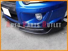 DP Style Carbon Fiber Front Bumper Add On Lip For Subaru 2003-2005 WRX STI GDB