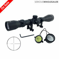 3-9X40 CrossHair  Optical Rifle Scope with Free 20mm Rail Mount
